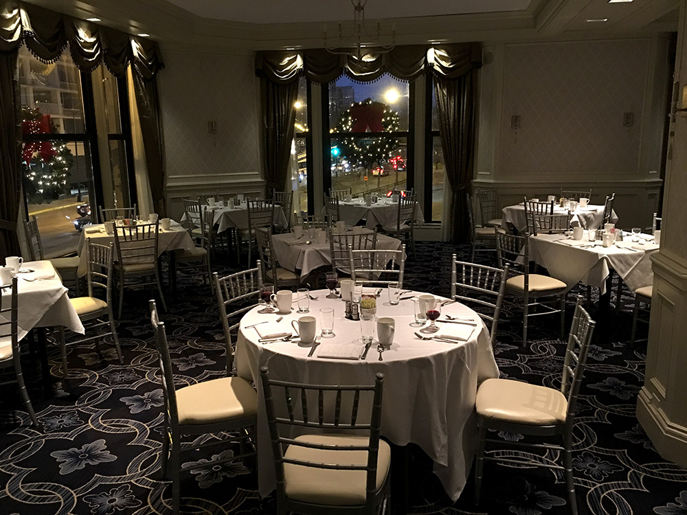 VIP Seating with chairs Service & Chicago New Years Eve Party at The Drake Hotel