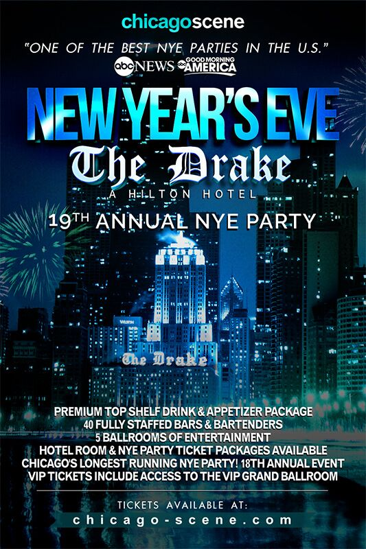 The Drake Chicago New Years Eve Party