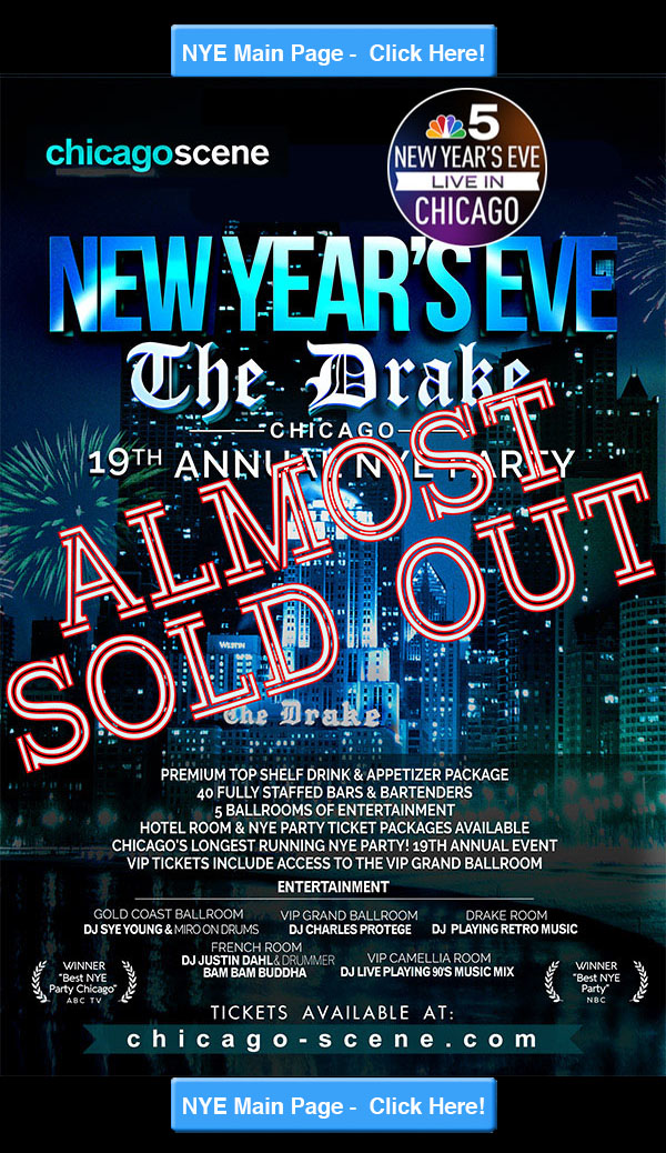Chicago Scene New Years Eve Party at the Drake 2018